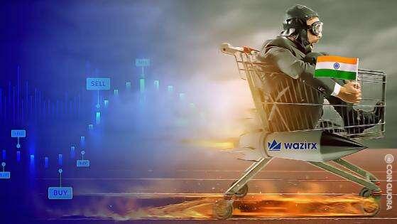 Indie Oparte Crypto Exchange WazirX Krzyże 200.000.000 dolarów w codziennym handlu Przez CoinQuora